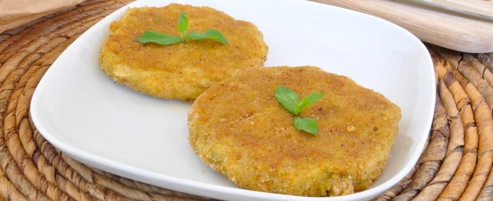 Burger alle zucchine e formaggio da fare con il bimby: cucina vegetariana