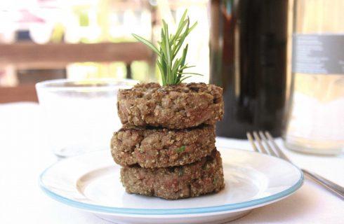 Hamburger di carne aromatici, preparateli con il bimby