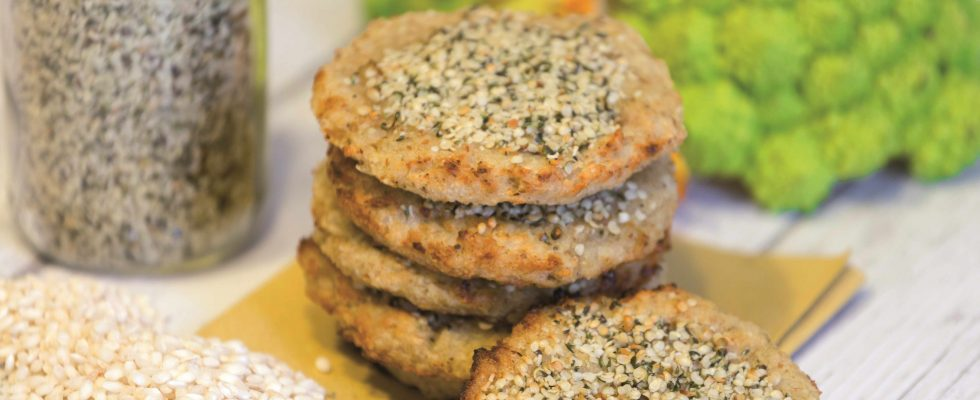 Burger di riso e cavolo, nutrienti e salutari