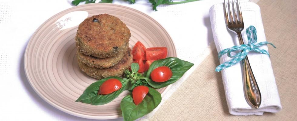 Burger ricotta e melanzane da fare con il bimby: pranzo leggero