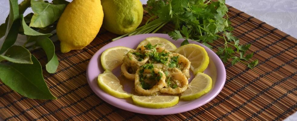 Bimby: ecco i calamari con prezzemolo e limone