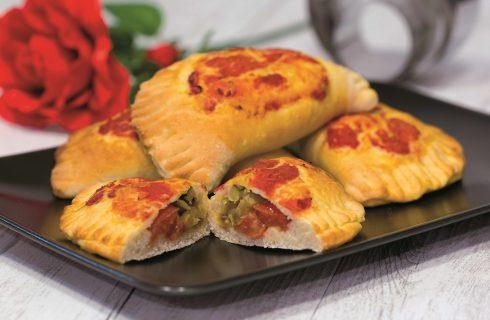 Calzoni con verdure, uno sfizio vegetariano
