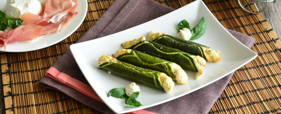 Bimby: ecco i cannoli di zucchine con prosciutto crudo e ricotta