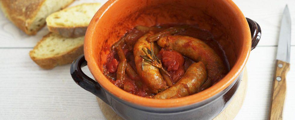 Cardi con salsicce, un secondo piatto invernale