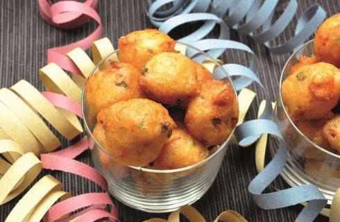 Castagnole salate: sono facili da preparare con il bimby