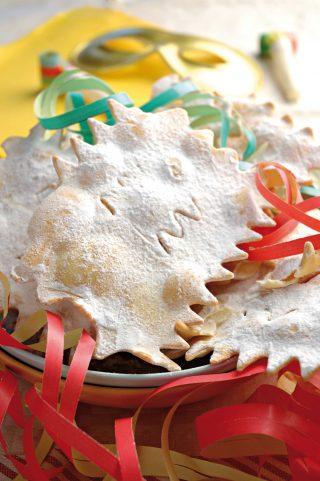 Chiacchiere festeggiate il carnevale usando il bimby