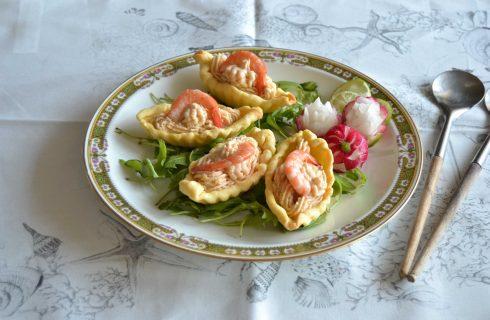 Bimby per l'aperitivo: coupelle con mousse di gamberi