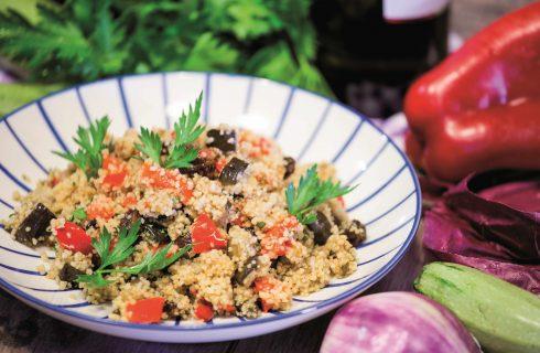 Cous Cous multicolore, un primo piatto dal sapore estivo