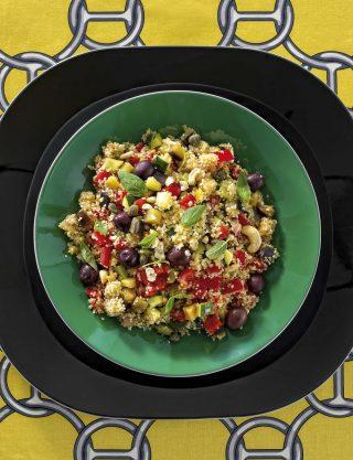 Cous cous con verdure e anacardi: primo croccante con il bimby