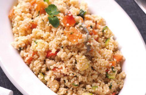 Cous cous con verdure è semplice farlo con il bimby