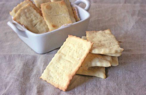 Crackers con farina di kamut sono facili con il bimby