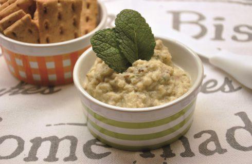Crema alle melanzane: il babaganoush è facile da fare con il bimby