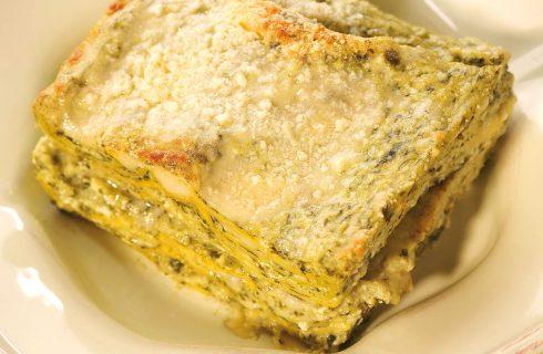 Lasagne al pesto con besciamella e provola affumicata: fatele con il bimby