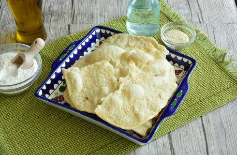 Lavash: pane armeno nella versione con il bimby