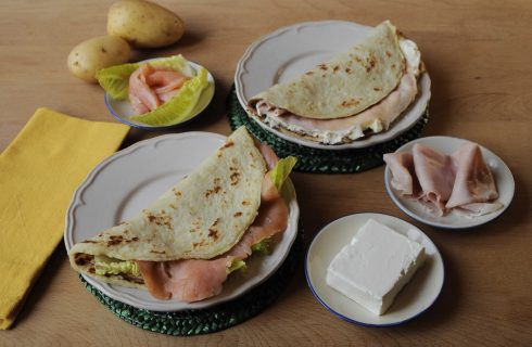 Lefse, pane della cucina norvegese da preparare con il bimby