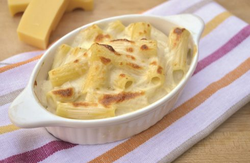 Maccheroni all'americana: mac & cheese con il bimby