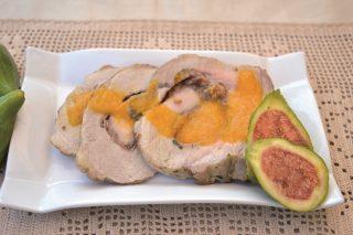 Prelibato: maiale ripieno di prosciutto crudo e fichi, preparatelo con il bimby