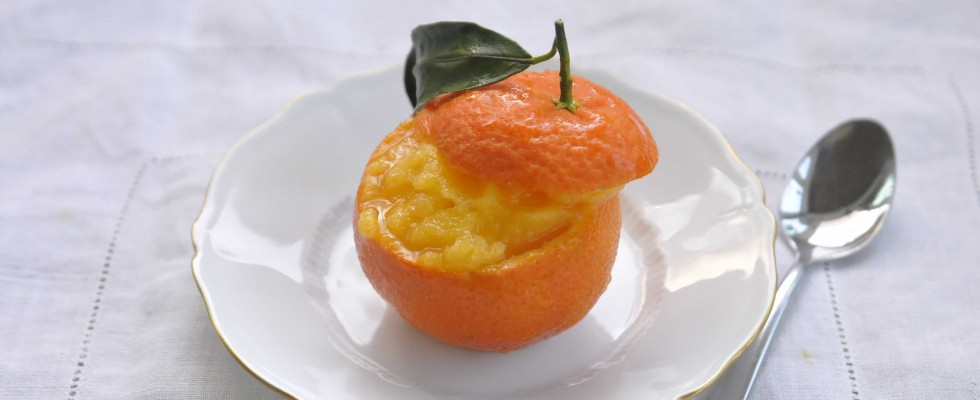 Sorbetto di mandarino: preparatele con il bimby