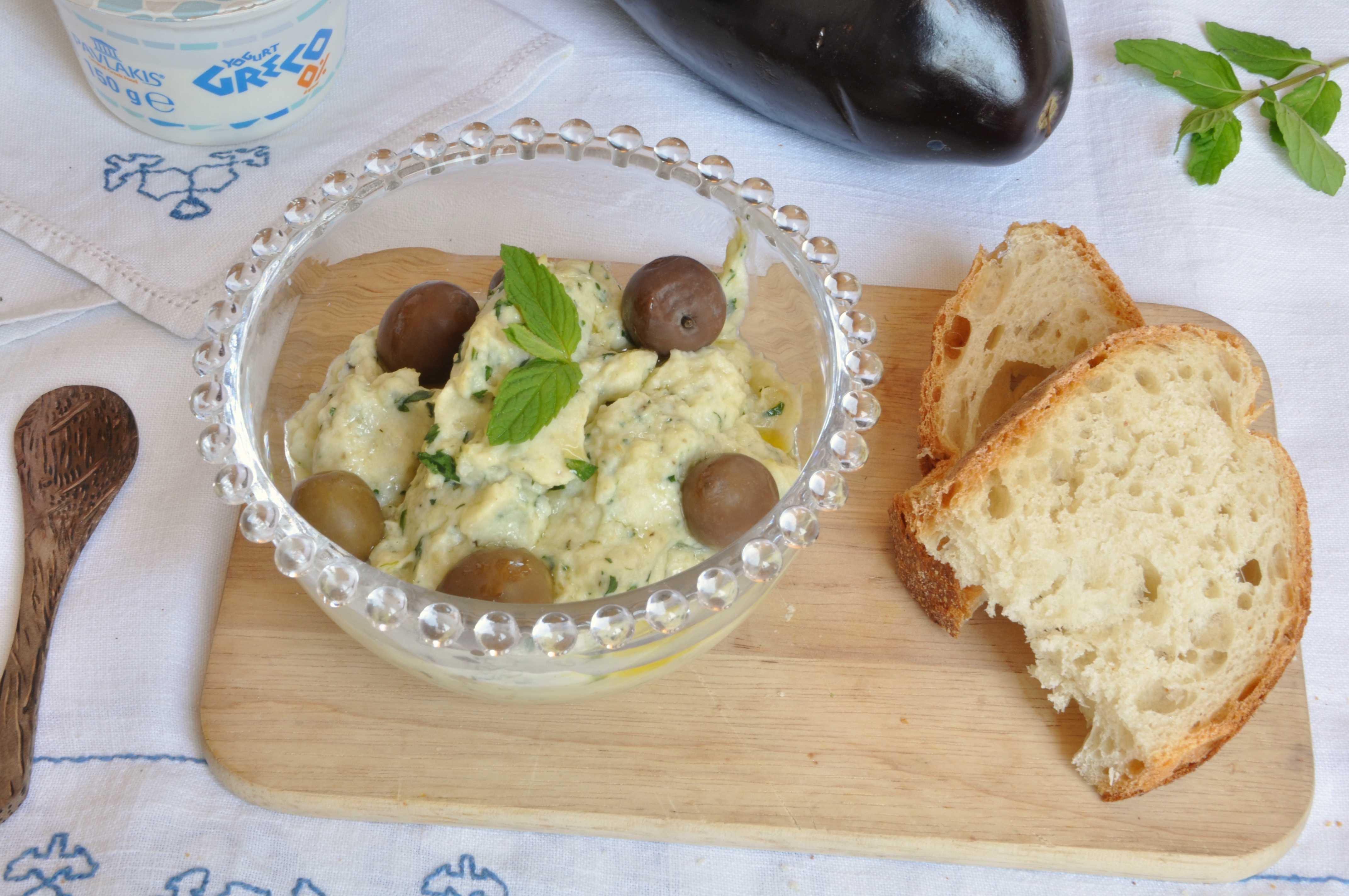 melitzanosalata al bimby cucina greca
