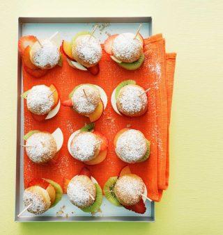 Panini dolci con frutta fresca: la ricetta con il bimby