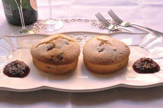 Tortine di San Valentino ai mirtilli: con il bimby