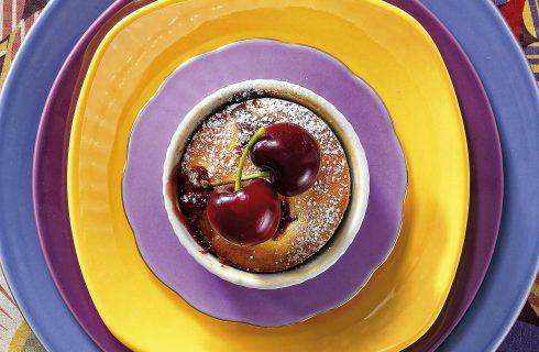 Muffin alle ciliegie, si preparano con il bimby