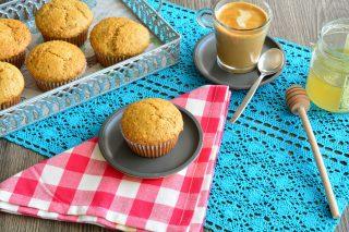 Muffin integrali al miele sono facili con il bimby