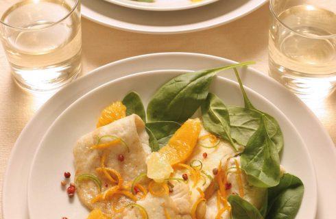 Nasello con spinaci e salsa al limone: da fare al bimby