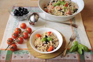 Orzo con olive nere, tonno e basilico: ricette estive con il bimby