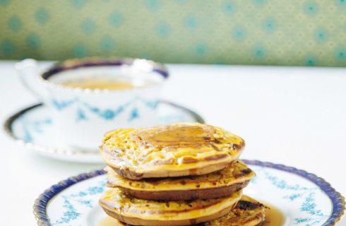 Pancake con miele sono facili da preparare con il bimby