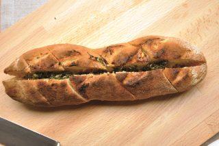 Pane all'aglio: saporito e preparato con il bimby
