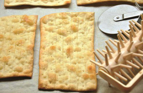 Pane azzimo: la ricetta con il bimby