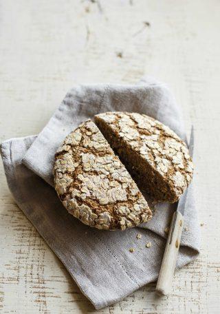 Pane con farina d'avena, si realizza con il bimby