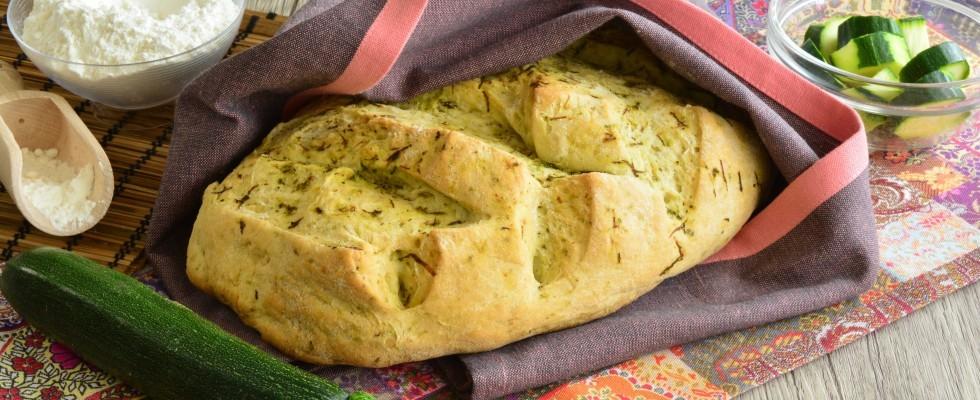 Pane di zucchine da fare con il bimby