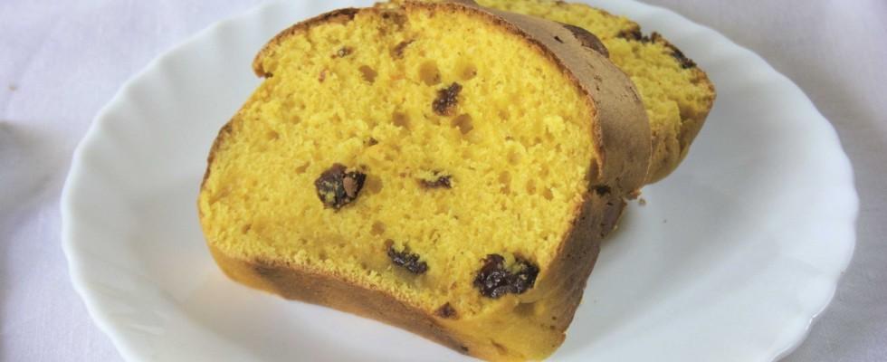 Pane dolce con zucca e uvetta: la ricetta con il bimby