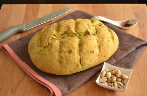 Bimby: ecco il pane spagnolo ai pistacchi