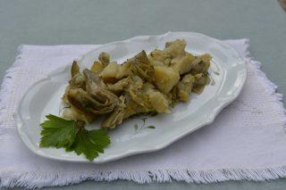 Patate e carciofi un contorno  saporito con il bimby