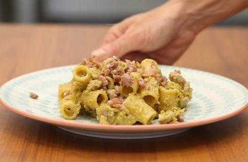 Pasta e pesto di pistacchio, un primo piatto sostanzioso e profumato
