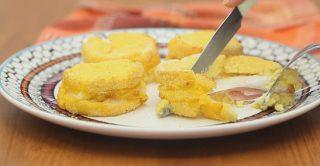 Polenta ripiena, un finger food gustoso