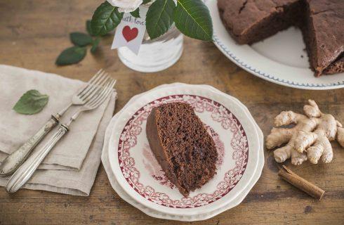 Torta cioccolato, zenzero e cannella: dolce ma speziato