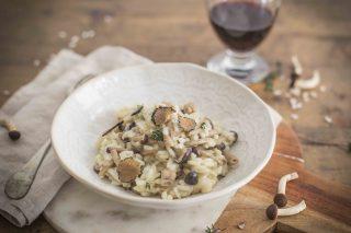 Risotto funghi e tartufo: l'eleganza in tavola