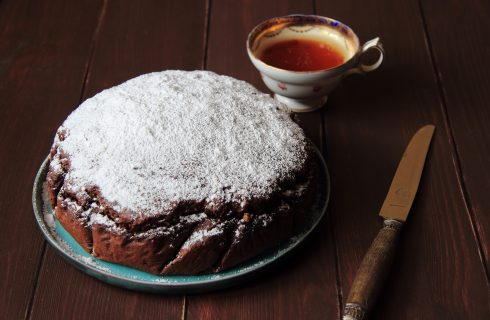 Torta paradiso al cacao, variante golosissima
