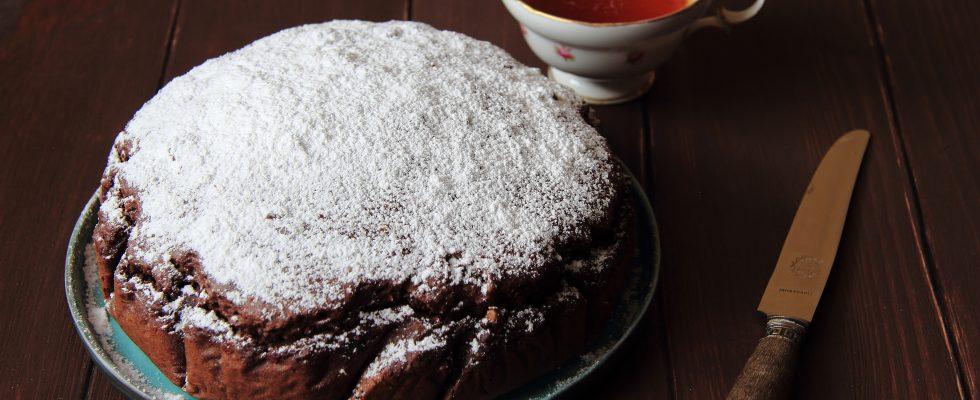Torta paradiso al cacao, variante golosissima
