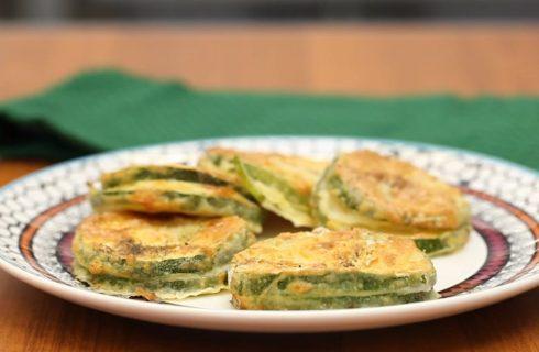 Zucchine in carrozza, la variante vegetariana