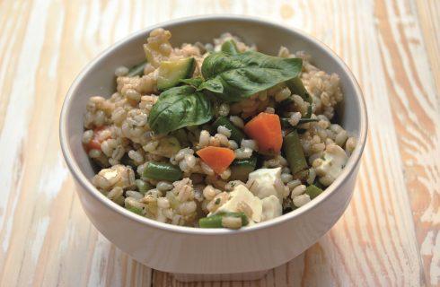 La zuppa di orzo con primosale e verdure: da fare al bimby