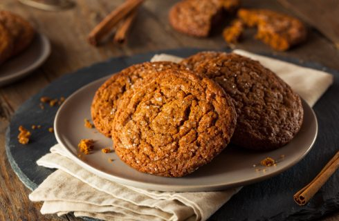 La ricetta dei biscotti vegan con melassa