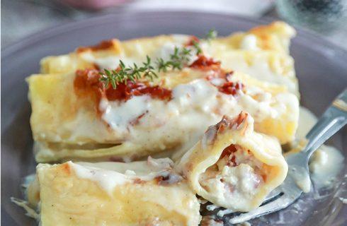 Cannelloni speck e robiola: irresistibili