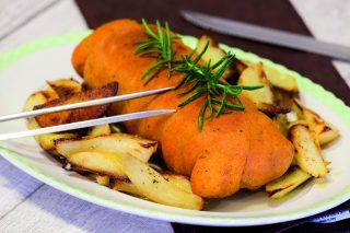 Muscolo di grano arrosto con patate