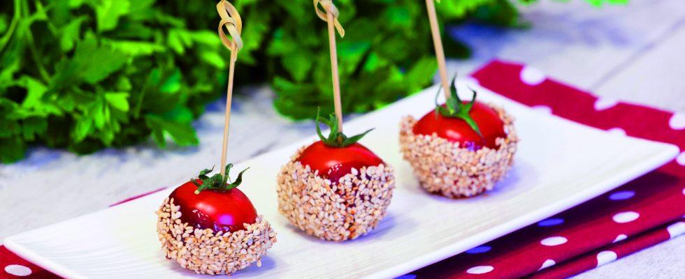 Pomodori in bellavista: per il buffet