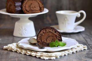 Rotolo di biscotti al cioccolato: per dessert